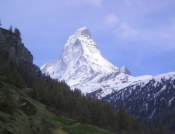 Matterhorn Mountains Crags Zermatt Alpine Mountain