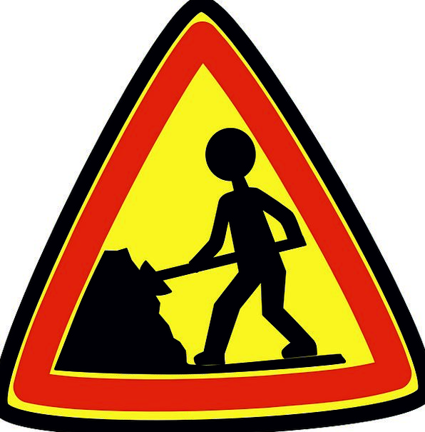 Roadsigns Labors Construction Building Workers War