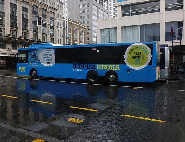Bus Car Traffic Transportation Parking Lot Aucklan