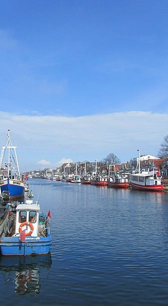 Warnemünde Vessels Boats Ships Northern Germany