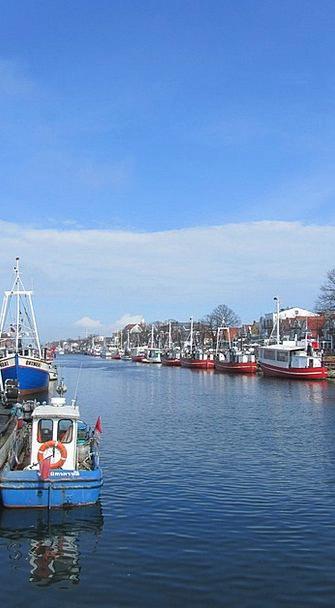 Warnemünde Vessels Boats Ships Northern Germany