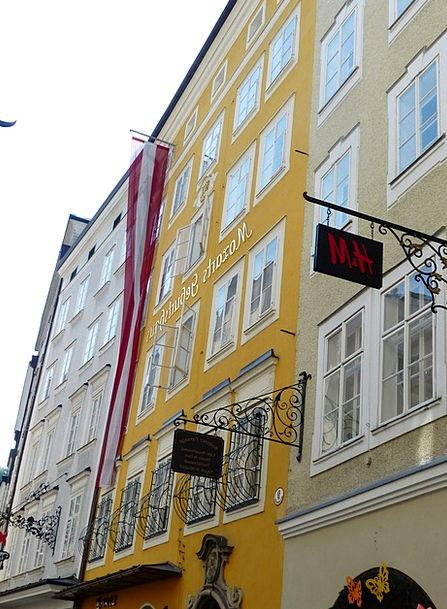 Mozart Buildings Origin Architecture Wolfgang Birt