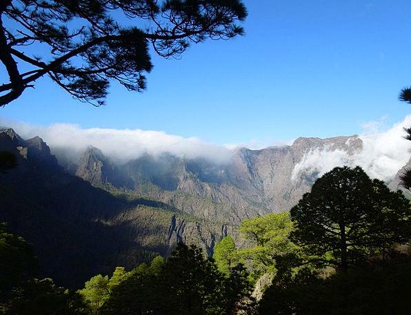 La Palma Landscapes Countryside Nature Canary Isla