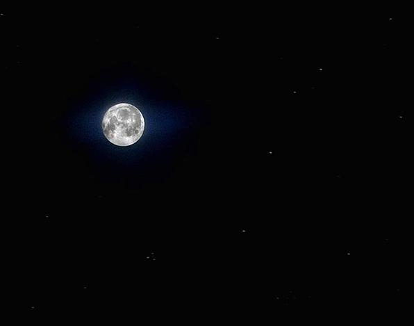 Moon Romanticize Landscapes Costars Nature Full Mo