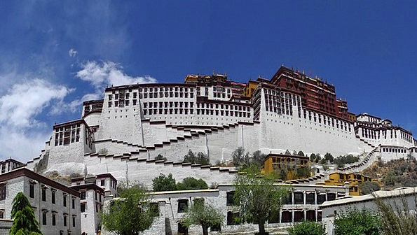 Tibet Buildings Architecture Buildings Structures
