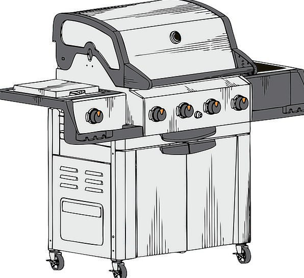 Barbecue Grate Propane Grill Broil Grilled Barred