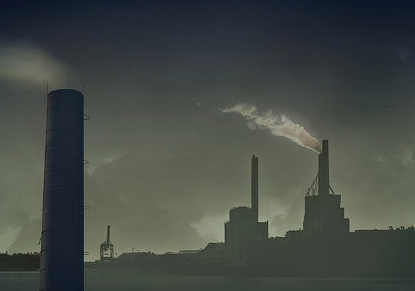 Chimney Contamination Air Pollution Pollution Envi