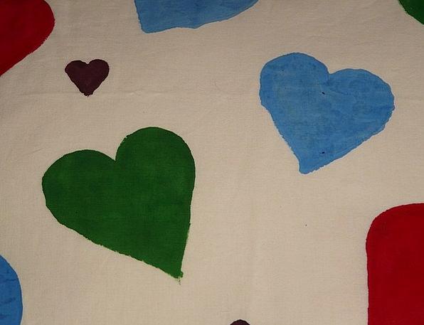 Heart Emotion Blue Azure Herzchen Green Lime Love