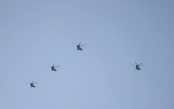 Helicopters Airplanes Traffic Airplane Transportat