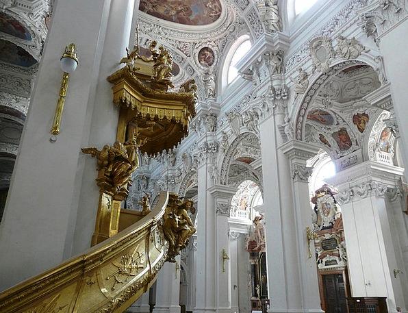 Dom Podium St Stephan Pulpit Passau Passauer Steph