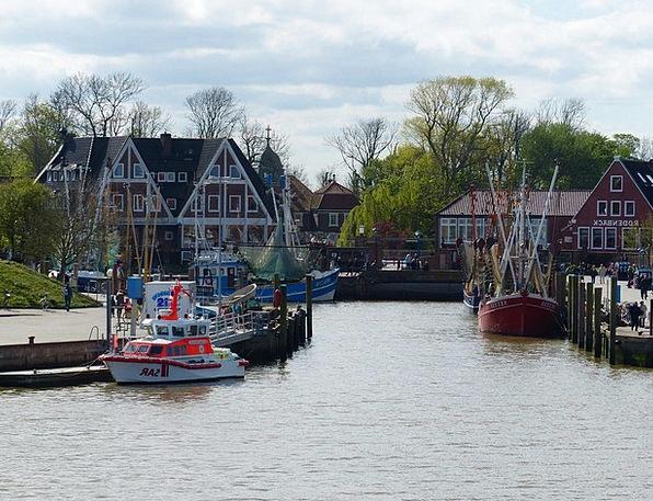 Neuharlingersiel Coast Shore East Frisia Fishing B