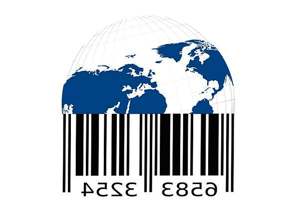 Bar Code Scan Lines Barcode Goods Properties Earth