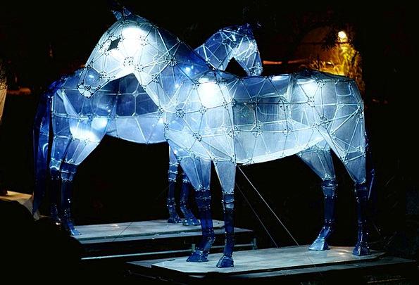 Horse Mount Physical Night Nightly Animal Light Br