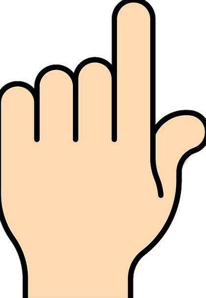 Pointing Mortar Digit Bold Brave Finger Hand Point