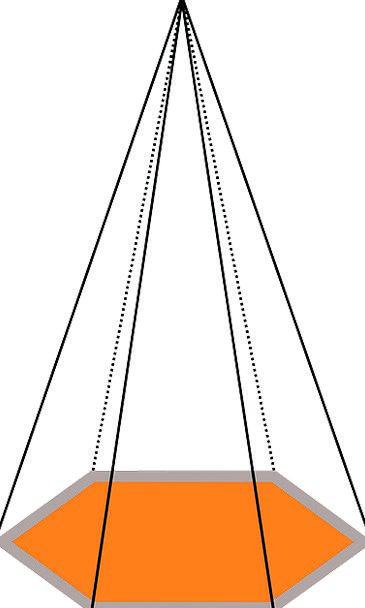 Pyramid Regular Shapes Forms Geometric Design Proj