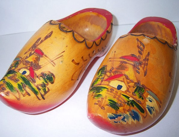 Amsterdam Blocks Craftsmanship Skill Clogs Isolate