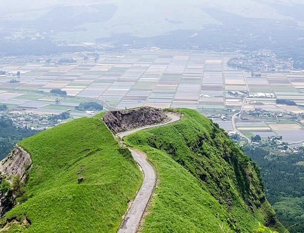 Aso Kumamoto Japan Somma Laputa Road