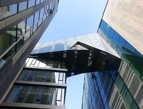 Building Structure Buildings Cut-glass Architectur