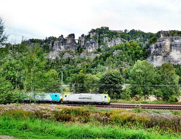 Bastion Area Landscapes Pullman Nature Saxon Switz