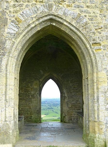 Glastonbury Tor Landscapes Nature United Kingdom E
