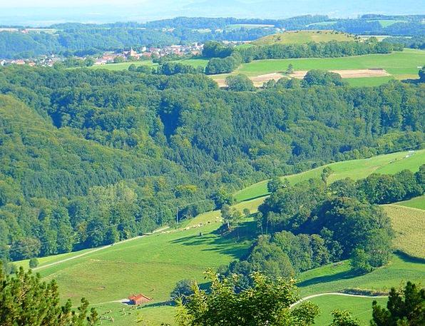 Swabian Alb Landscapes Scenery Nature Idyll Nirvan