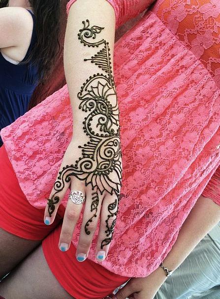 Henna Color Fashion Beauty Mehndi Designs Mehndi I