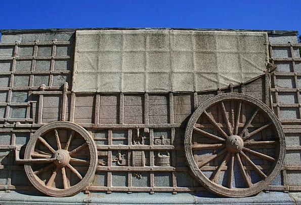 Ox Wagon Traffic Respite Transportation Wagon Carr