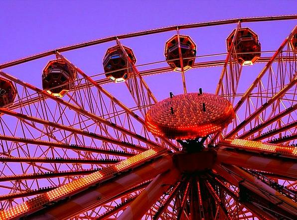 Ferris Wheel Reasonable Folk Festival Fair Amuseme