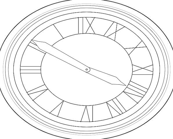 Clock Timepiece Time Period Watch Analog Clock Fre