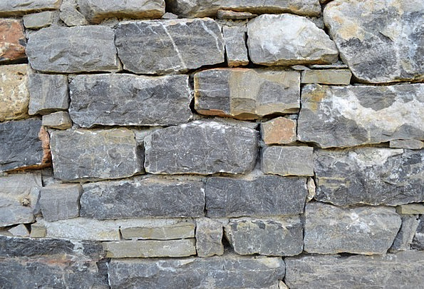 Stone Wall Buildings Pebble Architecture Wall Part