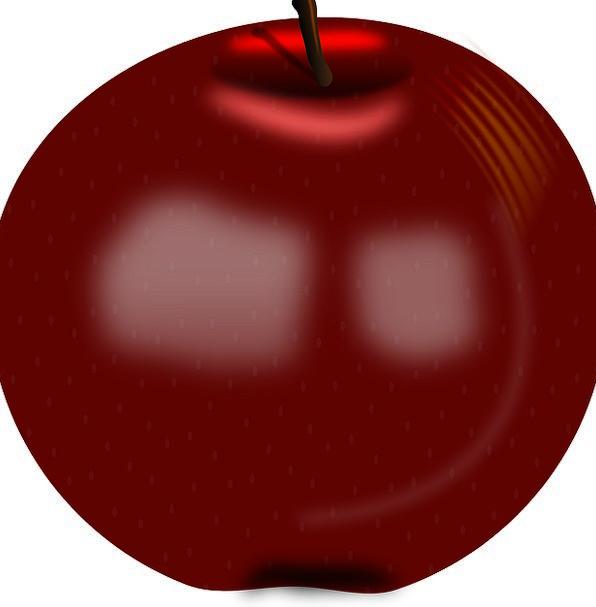 Apple Drink Bloodshot Food Fruit Ovary Red Juicy F