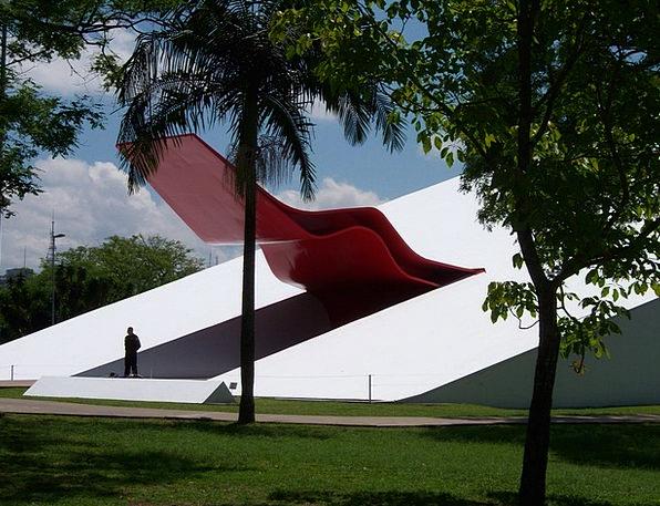 Ibirapuera Auditorium Buildings Architecture Moder