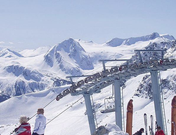 Whistler Canada British Columbia Skiing Outdoor Ac