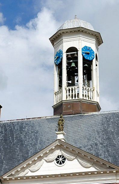Dokkum Friesland Town Hall Carillon Doorbell Roof