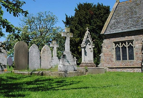 Gravestones Headstones Ecclesiastical Country Repu