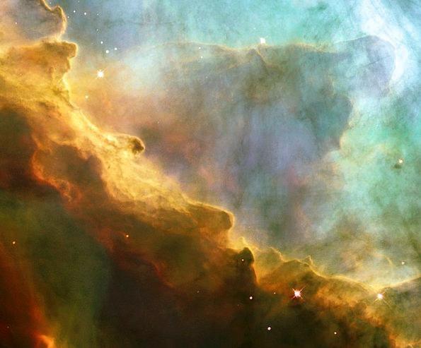 Omega Nebula Ngc 6618 Messier 17 Night Sky Emissio