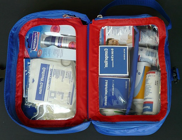 First Aid Kit Patch Cover Kits Medical Emergency D