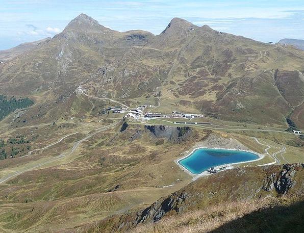 Kleine Scheidegg Eigertrail Bernese Oberland Bergs