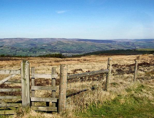 Derbyshire Landscapes Nature Great Britain England
