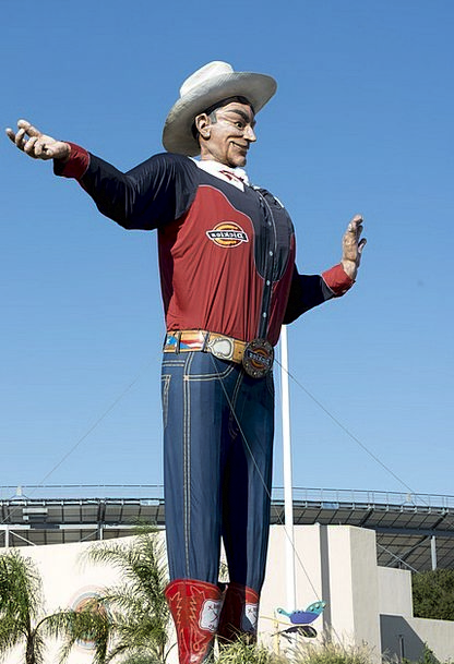 Texas State Fair Monuments Places Giant Huge Big T