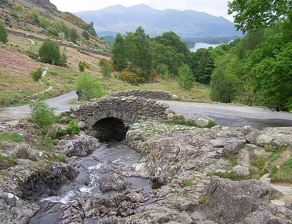 Bridge Bond Stream Watercourse Brook Water Aquatic