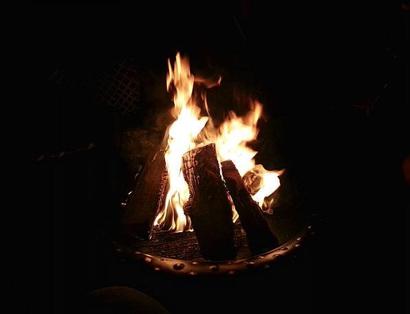 Fire Passion Courtyard Heat Warmth Backyard Outdoo