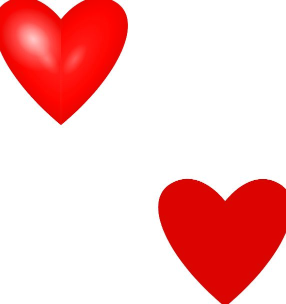 Heart Emotion Darling Red Bloodshot Love Sweethear