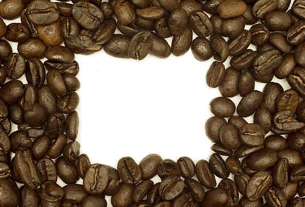Coffee Chocolate Frame Edge Beans Brown