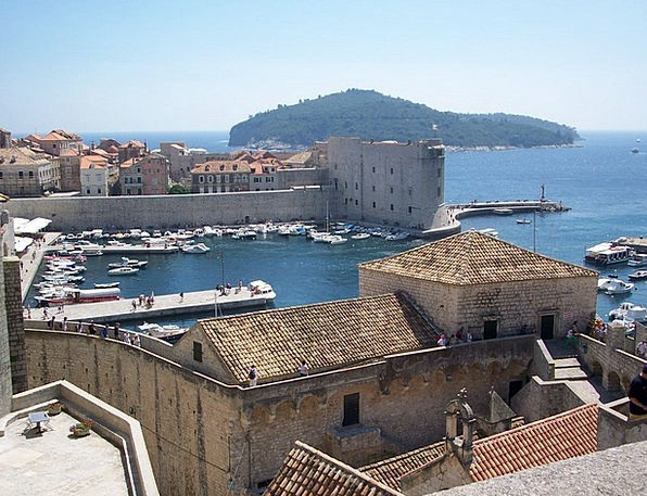Dubrovnik Buildings Inlet Architecture City Urban
