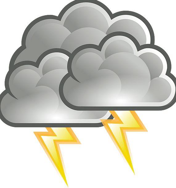 Thunderstorm Fast Thunder Noise Lightning Clouded