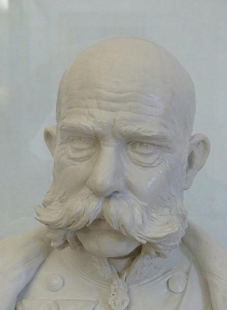 Franz Joseph I Ruler Bust Broken Emperor Man Gentl