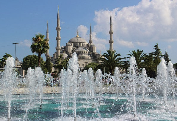 Blue Mosque Buildings Architecture Turkish Istanbu