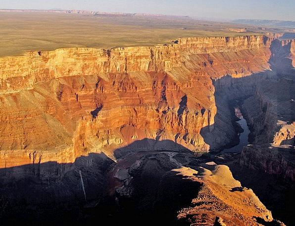 Grand Canyon Landscapes Nature Usa Arizona Aerial