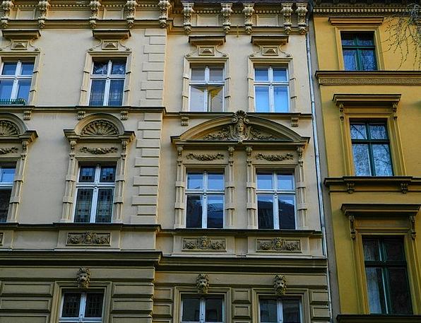 Berlin Buildings Architecture Window Gap Housewife